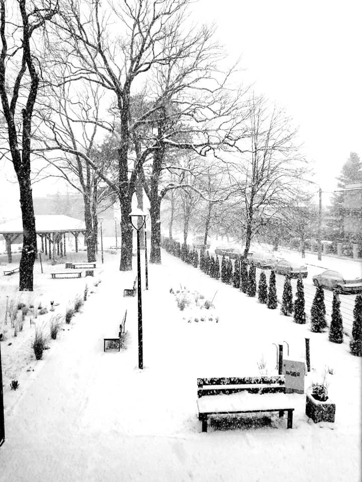 Zima, zima, zima…… paga, pada śnieg